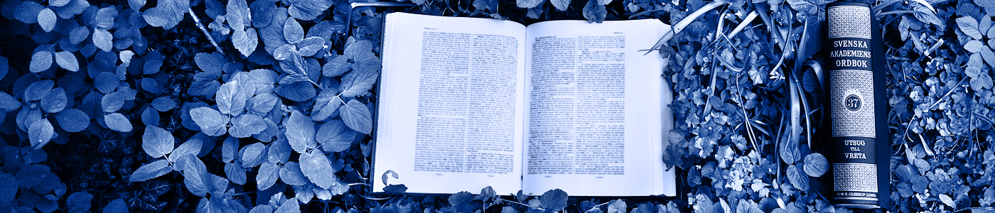 Nytt band av ordboken